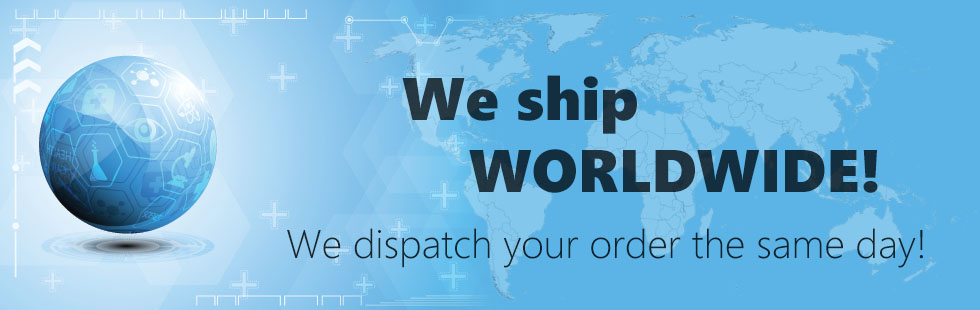 We ship worldwide!