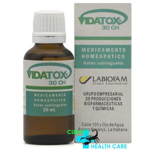 Vidatox 30 CH Homeopathic Treatment